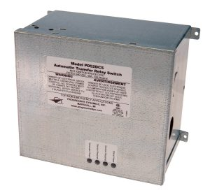 PD52DCS and PD525 Automatic surge protected transfer switch.