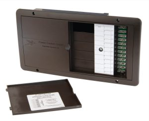 PD5000 AC/DC power distribution panel.
