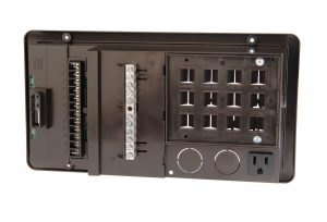 PD500 Series 30 Amp, 120 VAC AC/DC Power Distribution Panels.