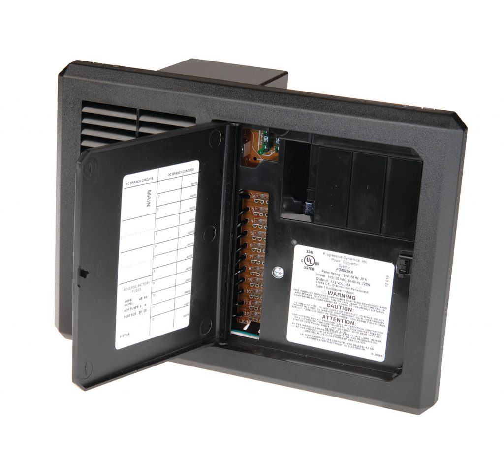 AC/DC Distribution Panel and Inteli-Power Converter with built-in Charge  Wizard®