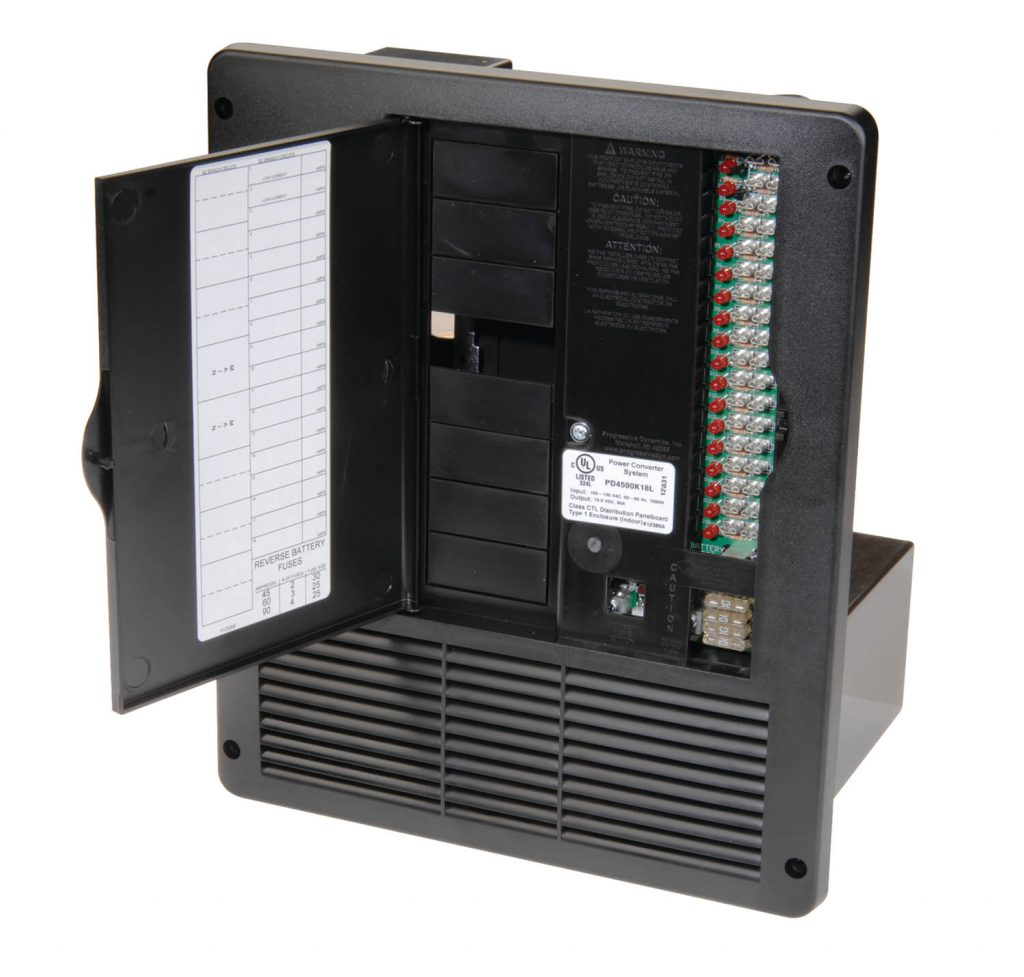 All In One 240v 50 Amp Ac Dc Power Distribution Panel 20 Circuit Breaker Box Fuses 4500 Series Ultimate