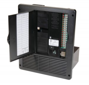 4500 Series Ultimate all-in-one 240V, 50 amp AC/DC power distribution panel.