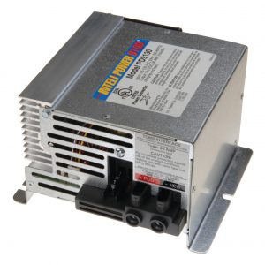 PD9130 Electronic Power Converter for charging RV batteries.