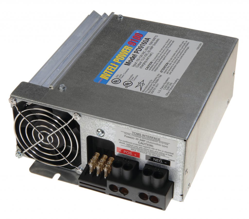 Pd9160a 60 Amp Electronic Power Converter Progressive Dynamics Rv Supply Schematics The Is Designed To Provide Reliable Filtered Dc All Recreational Vehicle 12 Volt Lighting And Appliance Circuits