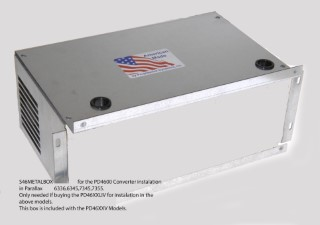 Metal box for PD4600